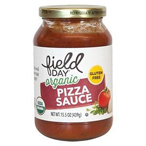 Field Day 1791805 Organic Pizza Sauce 15.5 oz - Case of 6