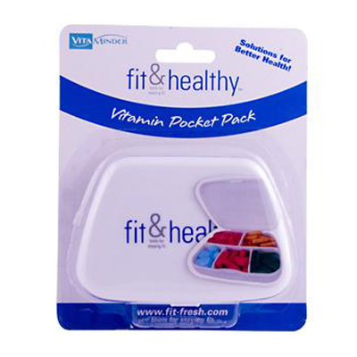 Fit and Healthy VitaMinder Vitamin Pocket Pack - 1 Case