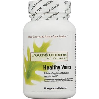 FoodScience of Vermont Healthy Veins - 60 Vegetarian Capsules
