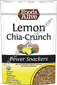 Foods Alive 591088 3 oz Organic Lemon Chia Power Snack