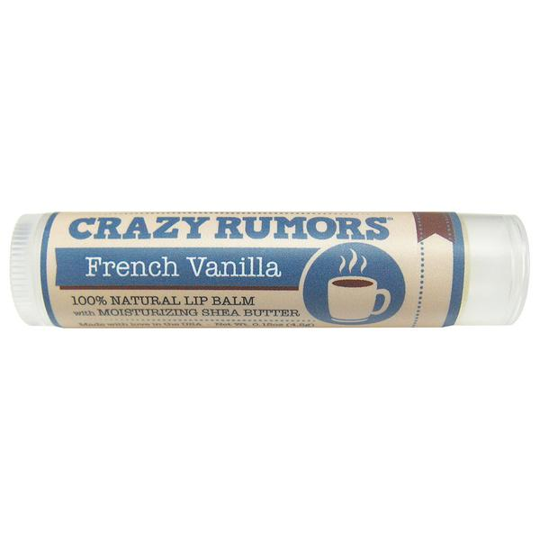 Frontier 224997 0.15 oz Crazy Rumors French Vanilla Lip Balm