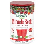 Frontier 228397 10 oz Macrolife Naturals Miracle Reds Super Food Supplements - 30 Servings