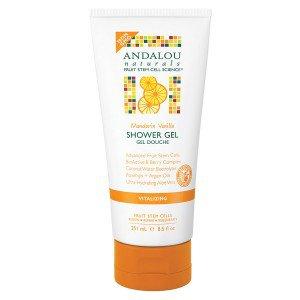 Frontier 228559 8.5 fl oz Andalou Naturals Body Care Vitalizing Mandarin Vanilla Shower Gels