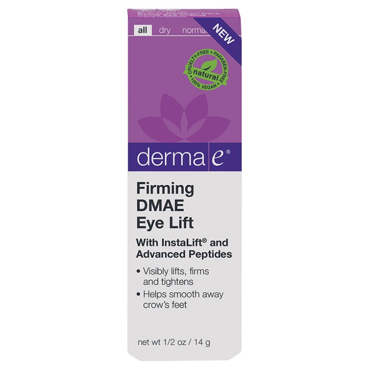 Frontier 228917 5 oz Derma E Facial Moisturizer DMAE Firming Eye Lift