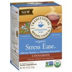 Frontier 229409 Traditional Medicinals Organic Cinnamon Stress Ease Tea 16 Bags