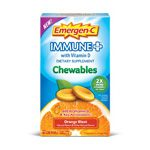 Frontier 229970 Alacer Emergen-C Orange Blast Immune Plus Chewables - 42 Chewable Tablets
