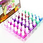 Frontier 230335 Piggy Paint Empty Acrylic Nail Polish Display