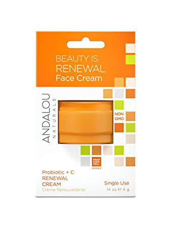 Frontier 231289 0.14 oz Andalou Naturals Probiotic Plus C Renewal Cream