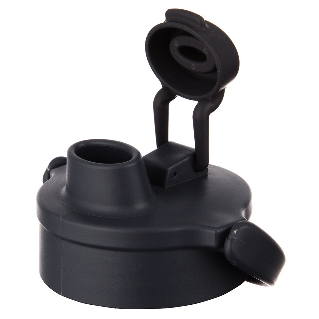 Frontier 8753 Black Flip Cap with Small Holes - 12 Count