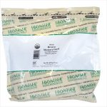 Frontier Bulk Mustard Seed Brown Whole CERTIFIED ORGANIC 1 lb. package