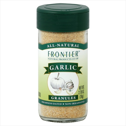 Frontier Culinary Spices Garlic Granules 2.7-Ounce Bottle