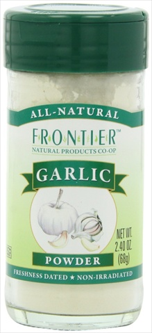 Frontier Garlic Powder 2.4-Ounce Bottle