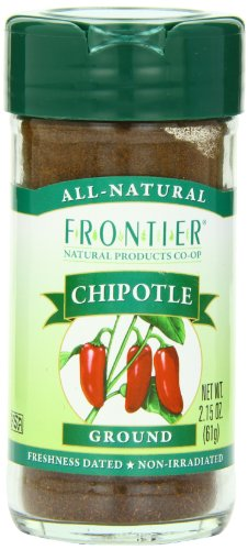 Frontier Ground Bottle Chipotle 2.15 Ounce