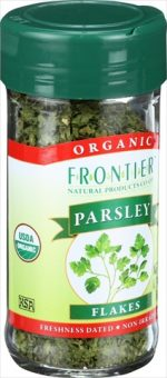 Frontier Herb 0.24 Ounce Organic Parsley Leaf Flakes