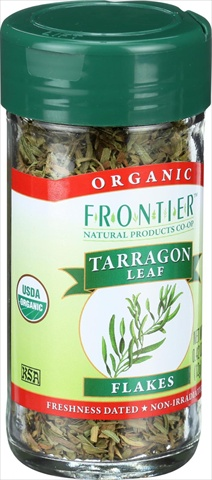 Frontier Herb 0.42 Ounce Organic Tarragon Leaf Cut And Sifted