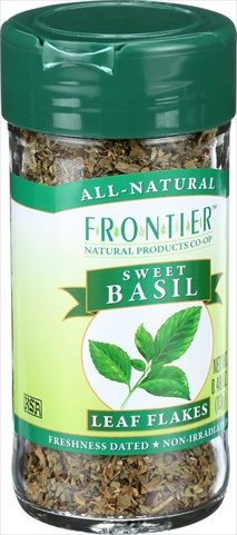 Frontier Herb 0.48 Ounce Basil Leaf Flakes Sweet Cut And Sifted Domestic