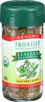 Frontier Herb 0.64 Ounce Organic Italian Seasoning Blend