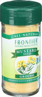 Frontier Herb 1.76 Ounce Mustard Seed - Yellow Ground