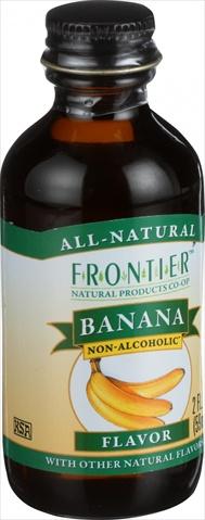 Frontier Herb 2 Ounce Banana Flavor