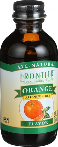 Frontier Herb 2 Ounce Orange Flavor
