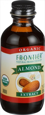 Frontier Herb 2 Ounce Organic Almond Extract