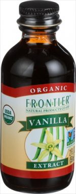Frontier Herb 2 Ounce Organic Vanilla Extract
