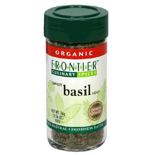 Frontier Herb 28407 Organic Sweet C-S Basil Leaf