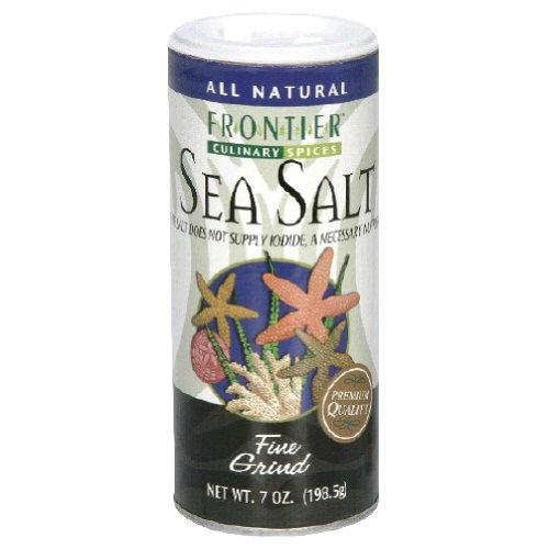 Frontier Herb 28507 Fine Sea Salt