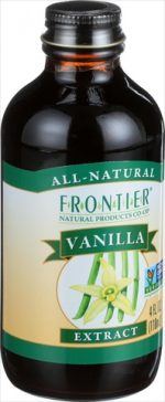 Frontier Herb 4 Ounce Vanilla Extract