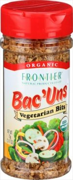 Frontier Herb Bac Uns Organic - Vegetarian Bits - 2.47 Ounce - Case Of 6