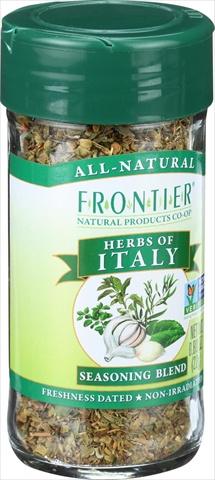 Frontier Herb International Seasoning - Herbs Of Italy - Salt Free 0.80 Ounce
