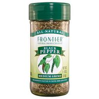 Frontier Herb Medium Grind Pepper Black 1 LB