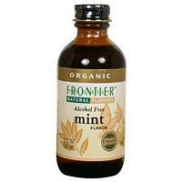 Frontier Herb Mint Flavor A/F 2 Oz