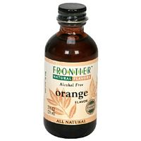 Frontier Herb Orange Flavor A/F 2 Oz