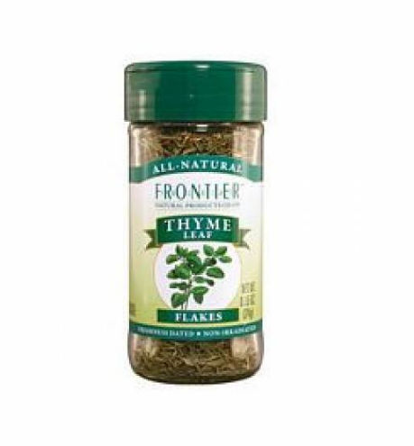 Frontier Herb Whole Thyme Leaf .8 Oz
