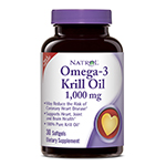Frontier Natural 229758 1000 mg. Heart Health Omega-3 Krill Oil 30 Softgels