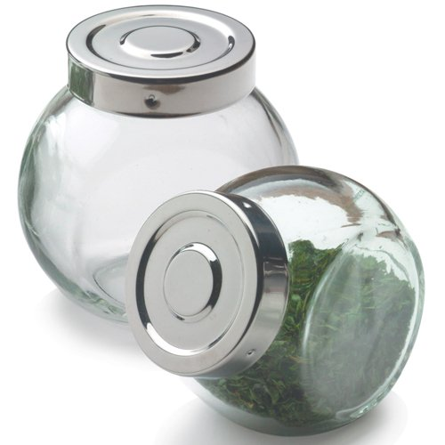 Frontier Natural Products 215169 Glass Ball Spice Bottle 6 oz.