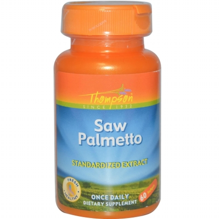 Frontier Natural Products 215623 Saw Palmetto Extract 160 Mg 60 Softgels