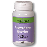 Frontier Natural Products 219457 Hawthorn Berry 525 Mg 60 Capsules