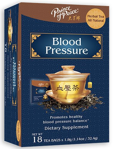 Frontier Natural Products 229175 Blood Pressure Herbal Tea 18 Tea Bags