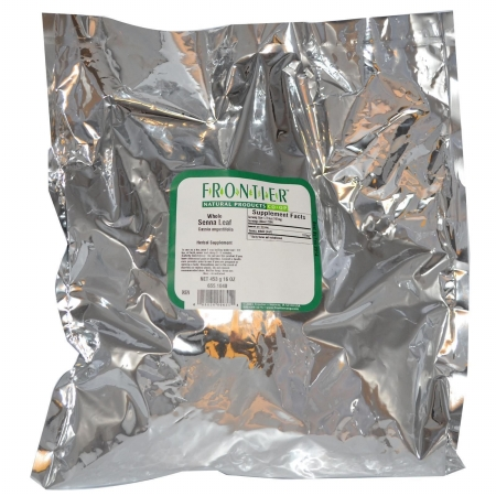 Frontier Natural Products 655 Senna Leaf Whole