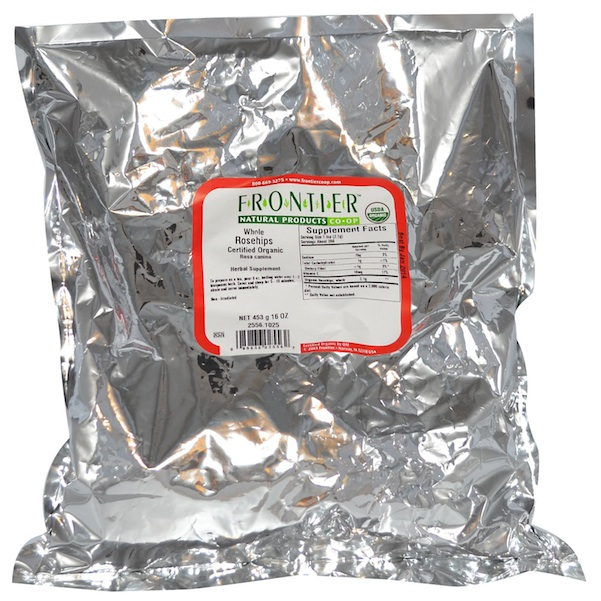 Frontier Natural Products BG13245 Frontier Rosehips Whole - 1x1LB