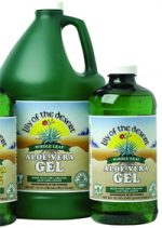 Frontier Natural Products Co-op 206064 Lily of the Desert Organic Aloe Vera Whole Leaf Gel 32 fl. oz.