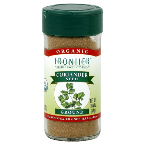 Frontier Natural Products Coriander Seed Og Ground 1.60-Ounce