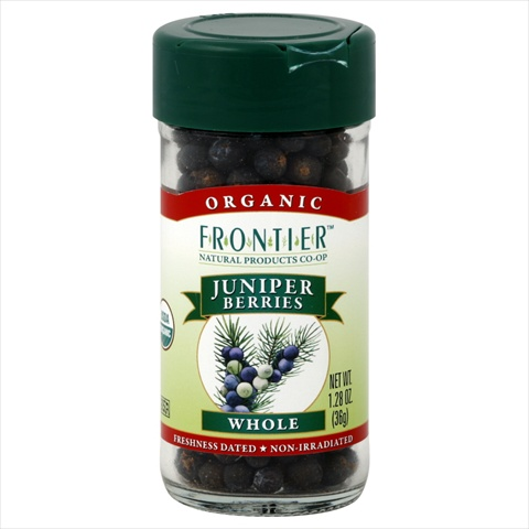 Frontier Natural Products Juniper Berries Og Whole 1.28-Ounce