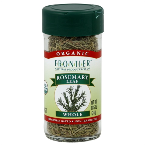 Frontier Natural Products Rosemary Leaf Og Whole 0.65-Ounce