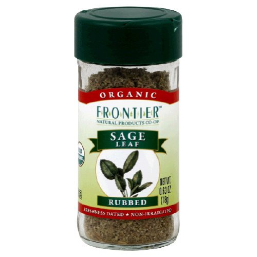Frontier Natural Products Sage Leaf Og Rubbed 0.40-Ounce