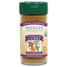 Frontier Natural Products Vindaloo Curry 1.9 Oz