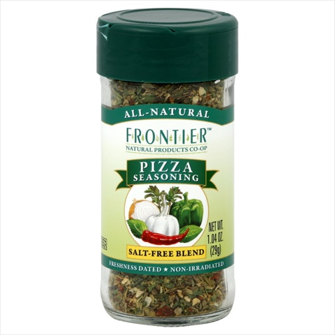 Frontier Pizza Salt- Free Seasoning - 1.04 Oz