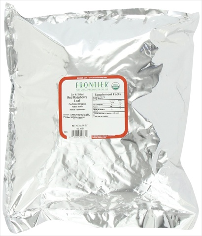 Frontier Raspberry Red Leaf C/s Certified Organic 16 Ounce Bag